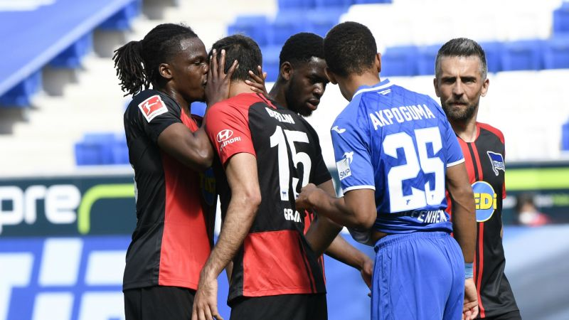 Boyata denies kissing Grujic in Hertha game amid coronavirus criticism