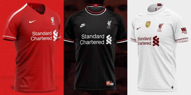 (Images) Top ten best LFC x Nike concept kits that won't get used