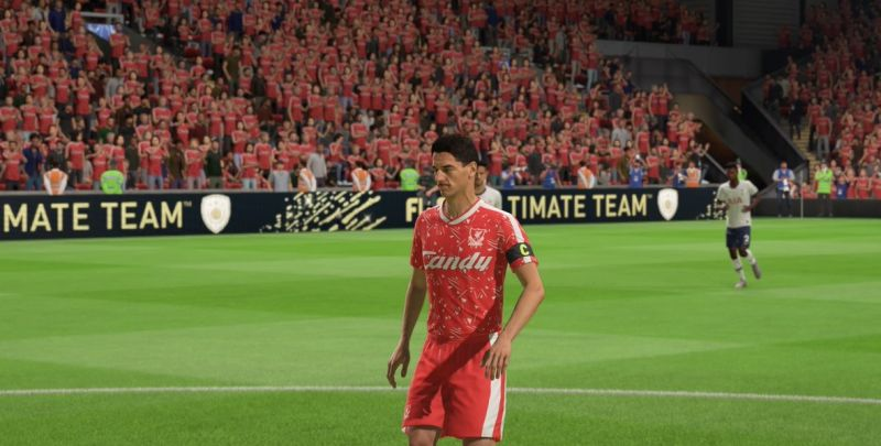 (Images) 'Looking tasty': Fans are loving how Liverpool's retro kit looks on FIFA 20
