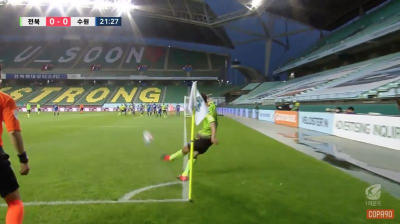 (Videos) K League kick-off season & shows us what football looks like during a pandemic