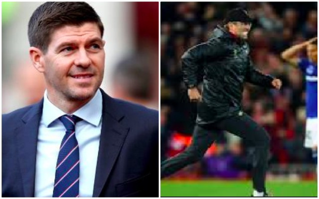 Gerrard sees Klopp every day during lockdown & it gives him a massive 'lift'