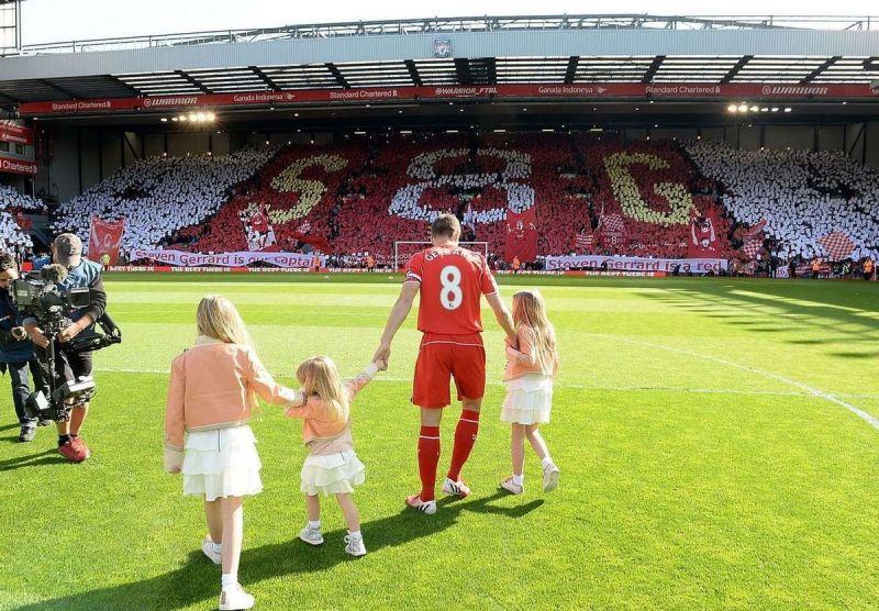 (Video) Gerrard's Anfield farewell still a tear-jerker five years on