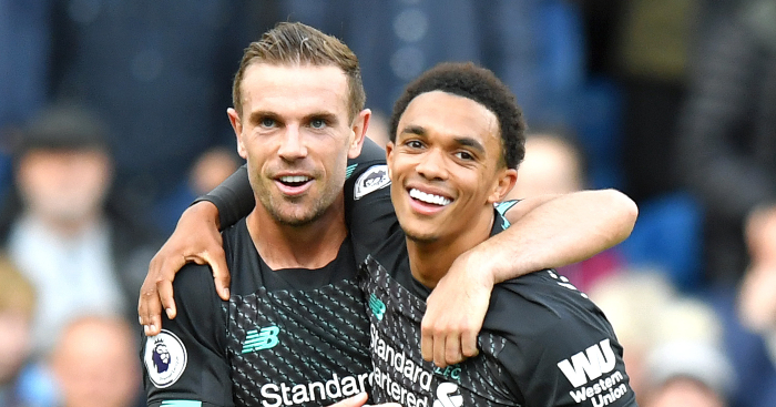 The current Jordan Henderson & Trent Alexander-Arnold injury situations