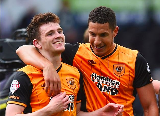 Jake Livermore calls Andy Robertson 'little manky foot' on account of his weird toes