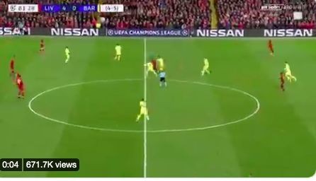 'You see Pogba do this and Sky do an hour on it…' Gini Wijnaldum loves video of him ruining Barca's midfield