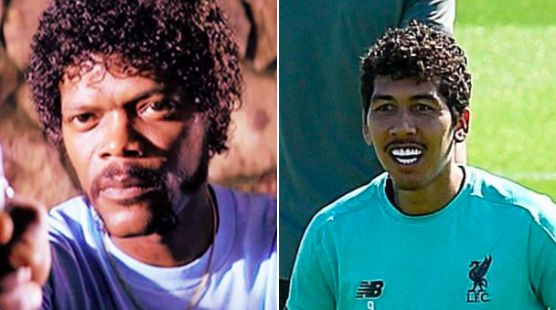 'Young Ross Geller' 'Jules from Pulp Fiction' Twitter loves Bobby Firmino's lockdown look