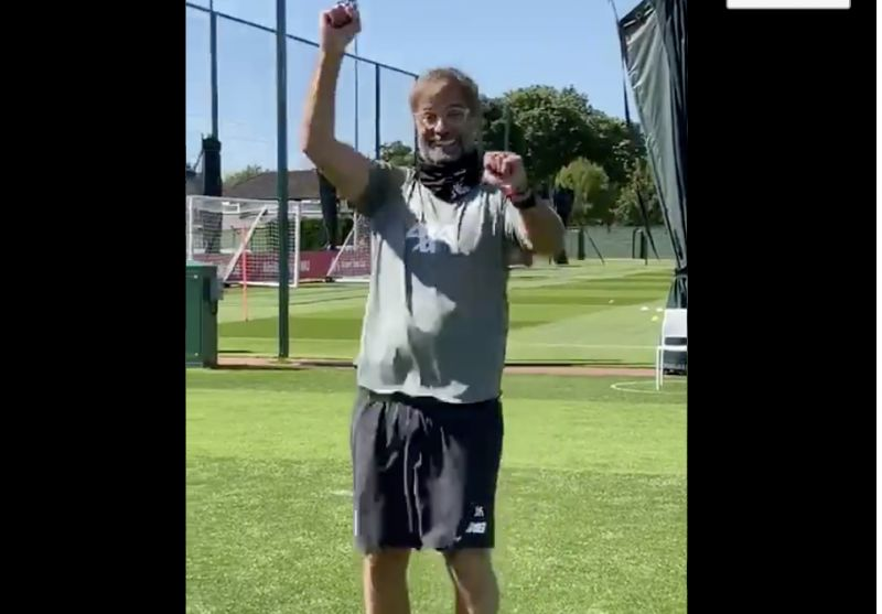 (Video) Klopp does Bank Holiday dance to celebrate Istanbul anniversary