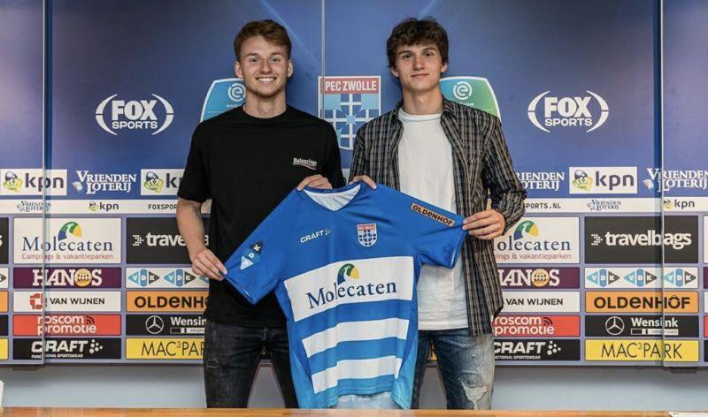 Sepp van den Berg's little brother rejects Liverpool transfer after Reds beeline for Dutch wonderkid