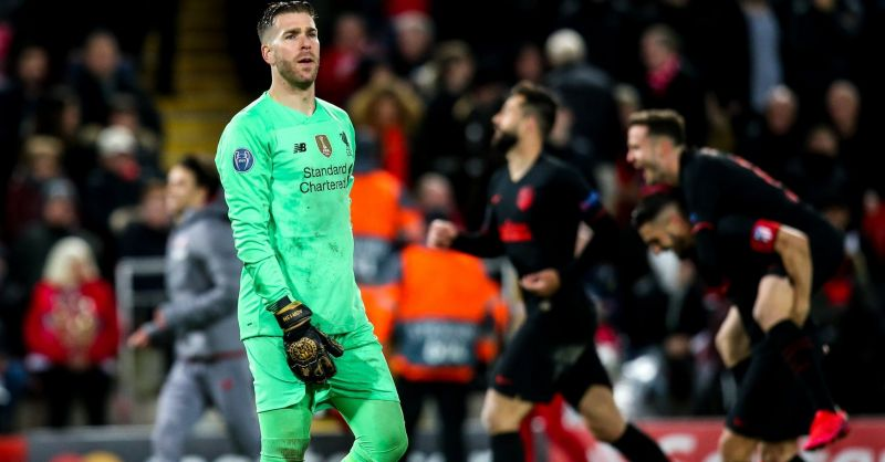 Adrian says Atletico 'deserved' to beat Liverpool because of Oblak, despite his mistakes