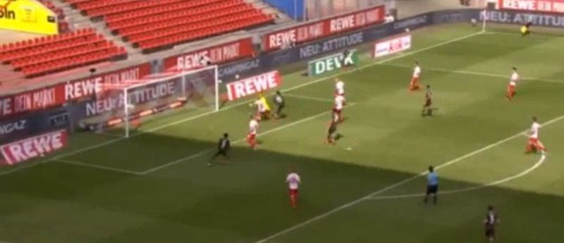 (Video) LFC loanee Awoniyi scores with poacher's finish for Mainz as Bundesliga returns