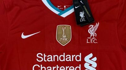 (Photo) New pic of Nike x LFC 2020/21 kit emerges online featuring Club World Cup badge
