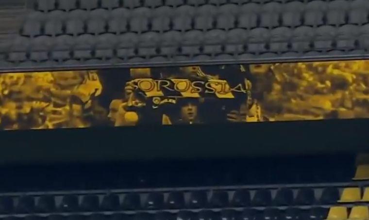 (Video) YNWA rings out inside Dortmund's empty stadium as Bundesliga returns