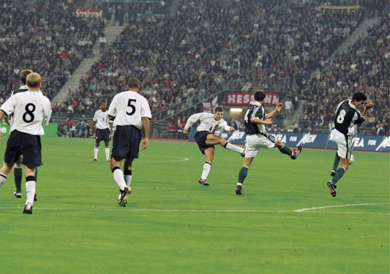 (Video) Remembering when a 21-year-old Gerrard dominated Germany as England won 5-1