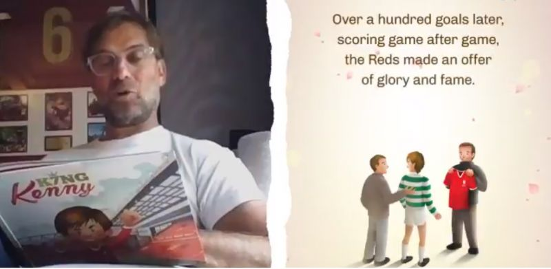 (Video) Jurgen Klopp tells the story of King Kenny in new book