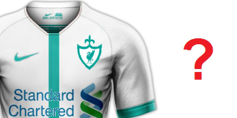 (Image) 'Recently fired Nike kit designer' shares unseen white & green LFC concept
