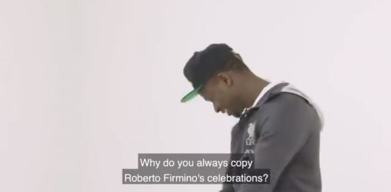 (Video) Mane finally explains why he copies Firmino's celebrations