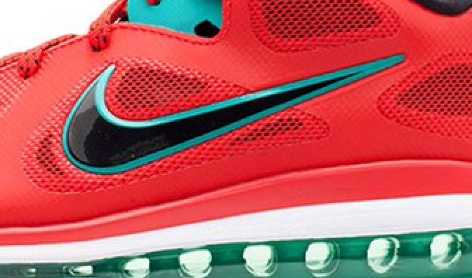 """(Photo) Nike to release LeBron 9 Low """"Liverpool"""" shoe, inspired by the Reds' new home kit"""
