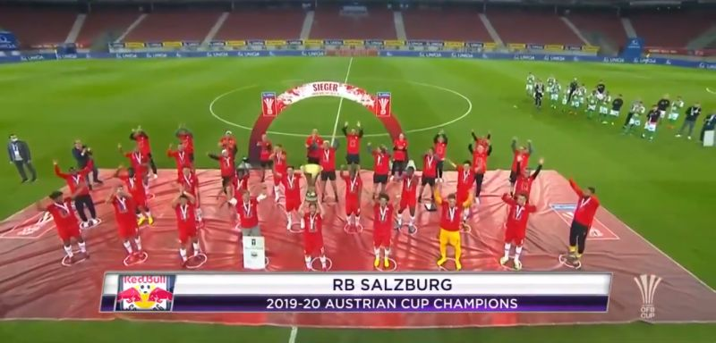 (Video) RB Salzburg outline how LFC may celebrate Premier League title win with social distancing