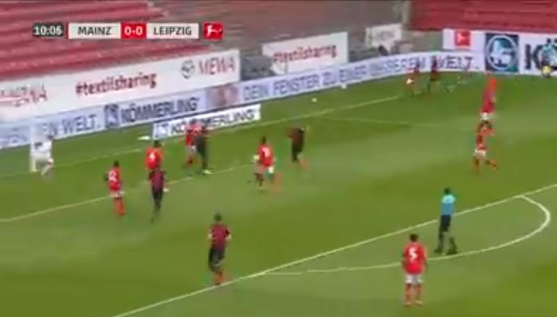 (Video) LFC target Werner scores with deft touch to make it 22 goals this season