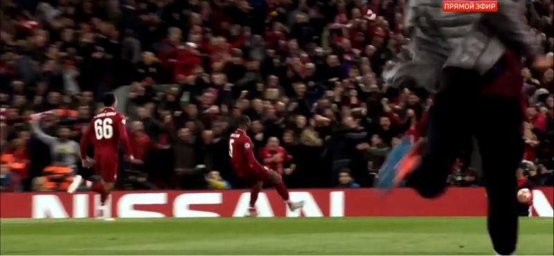 (Video) Noise inside Anfield after Wijnaldum goal v. Barca is deafening