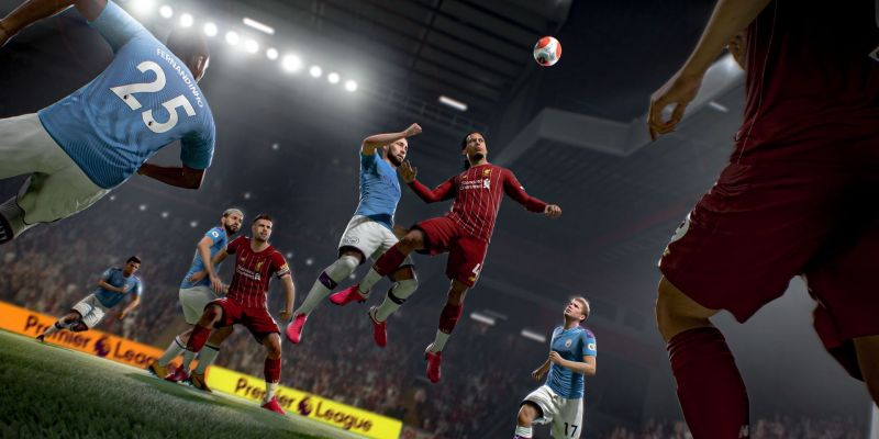 (Images) First glimpses of LFC in FIFA 21; including Anfield, van Dijk, Hendo & fans