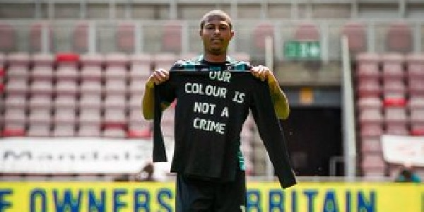 (Image) 'Our colour is not a crime' – Brewster shares powerful message after bagging for Swansea