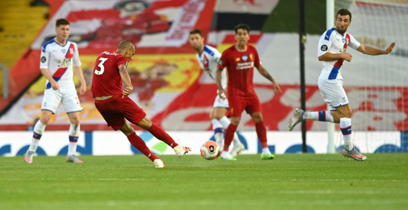 'Fabinho well and truly back' – LFC fans react as Brazilian drops masterclass v. Palace