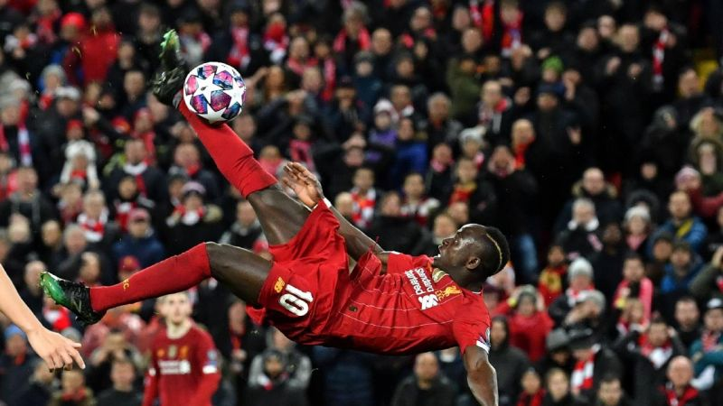 (Video) Every time Sadio Mane nearly scored with a bicycle kick for Liverpool
