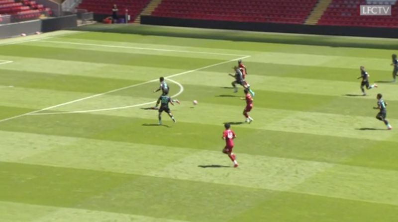 (Video) Mane scores after beautifully deft Firmino through-ball in Liverpool v Liverpool clash