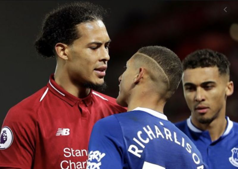Richarlison explains Van Dijk beef and suggests it was all tactical