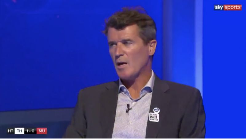 (Video) Liverpool fans in hysterics over Roy Keane's brutal verbal assault on Maguire and De Gea: 'I'd be swinging punches at that guy'