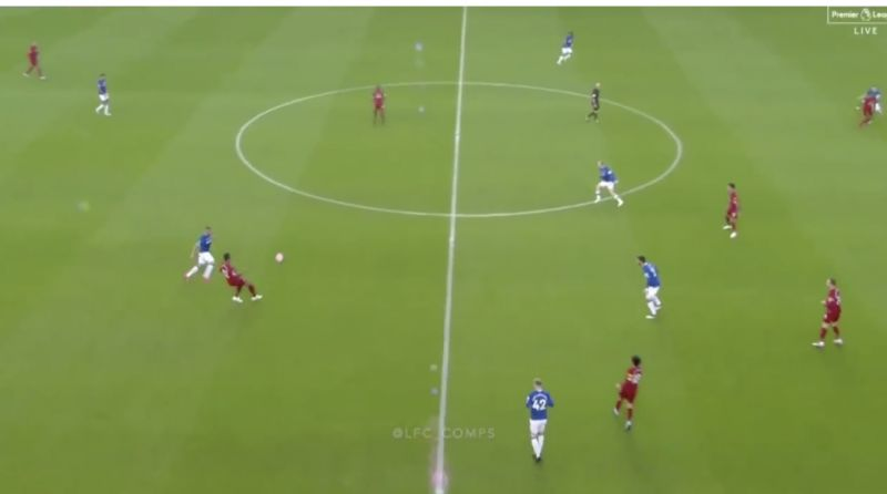 (Video) Joel Matip's exquisite passing on display once again v Everton