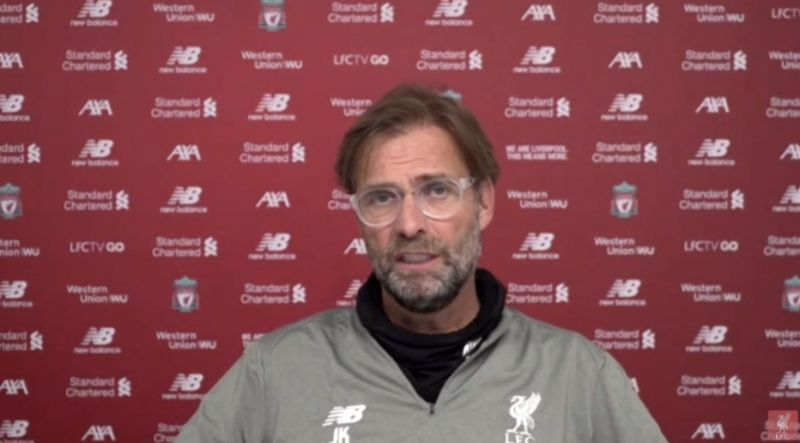 (Video) Youngsters will have to earn their place in final PL fixtures, says Klopp