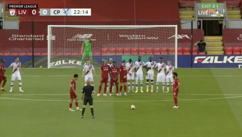 (Video) Trent bags worldy free kick into top corner with Beckham technique