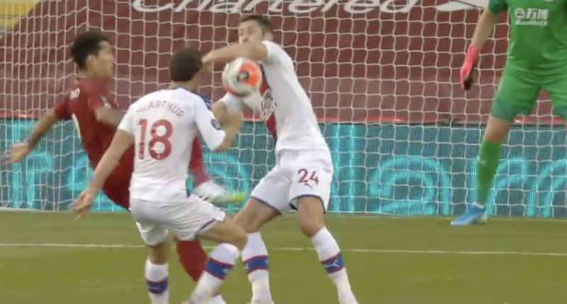 (Video) Cahill gives away another blatant penalty, but VAR must be broken at Anfield again