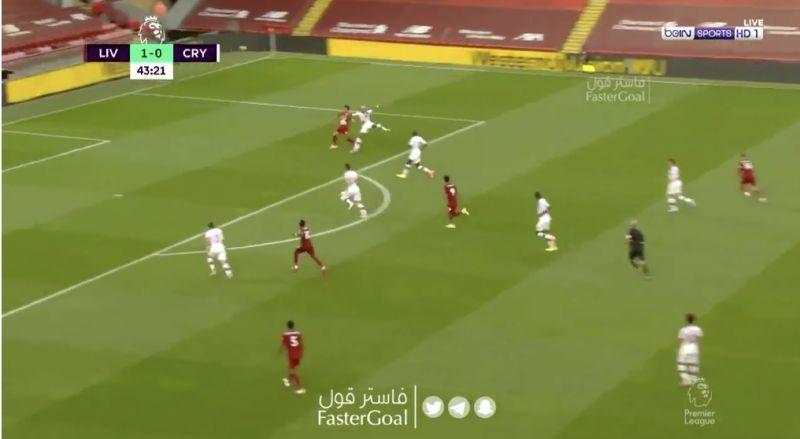 (Video) Mo Salah scores classic goal after beautiful Fabinho assist
