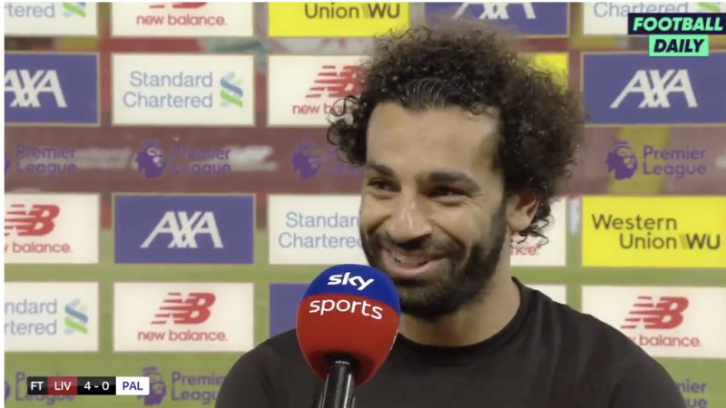 (Video) Mo Salah's plans for Liverpool's potential Premier League title win are surprising but lovely
