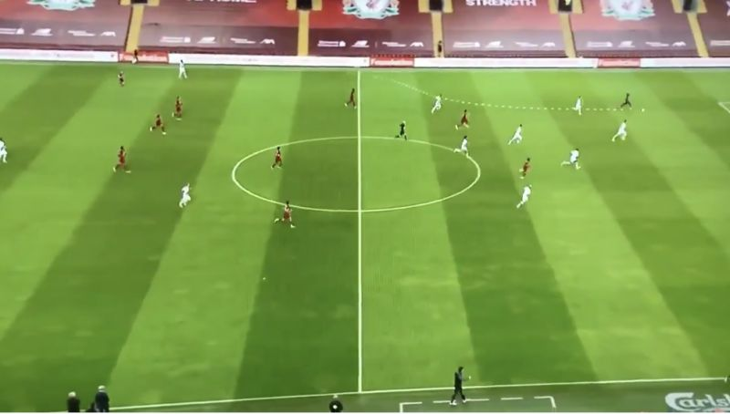 (Video) Klopp celebrated Mo Salah's amazing through-ball before Mane had even scored