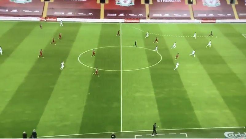 (Video) Klopp celebrated Mo Salah's amazing through-ball before Mane had even scored