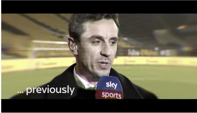 (Video) 'Has anyone seen Gary Neville?' United icon ruined after LFC win title