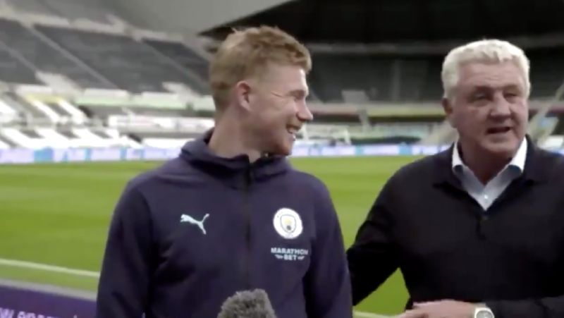 (Video) Steve Bruce provides 'exclusive' Kevin de Bruyne transfer news, but Liverpool fans shouldn't hold our breath
