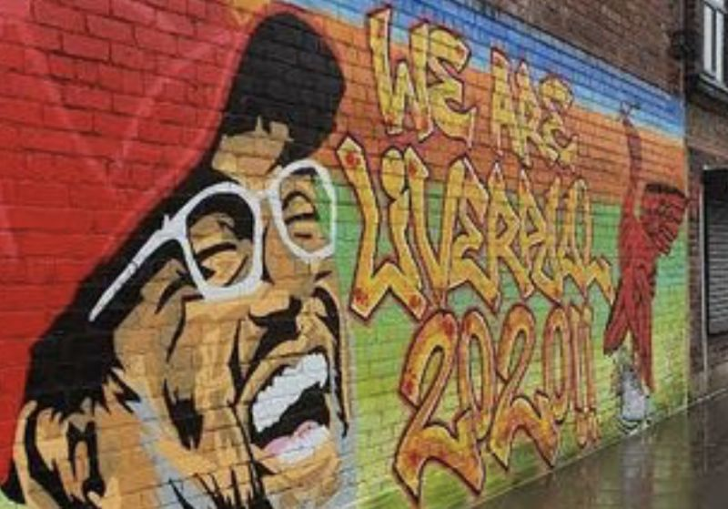 (Image) A new Klopp mural has sprung up in Liverpool