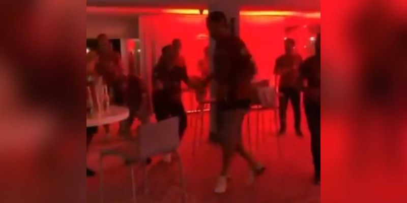(Video) Klopp throws some outrageous shapes in unseen footage from LFC's PL party