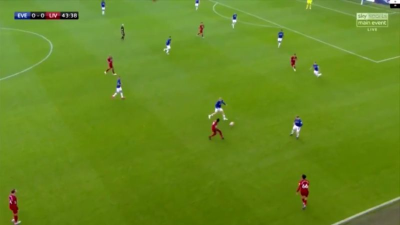 (Video) Keita's intricate midfield play exemplified with lovely passage as Naby shines v Everton
