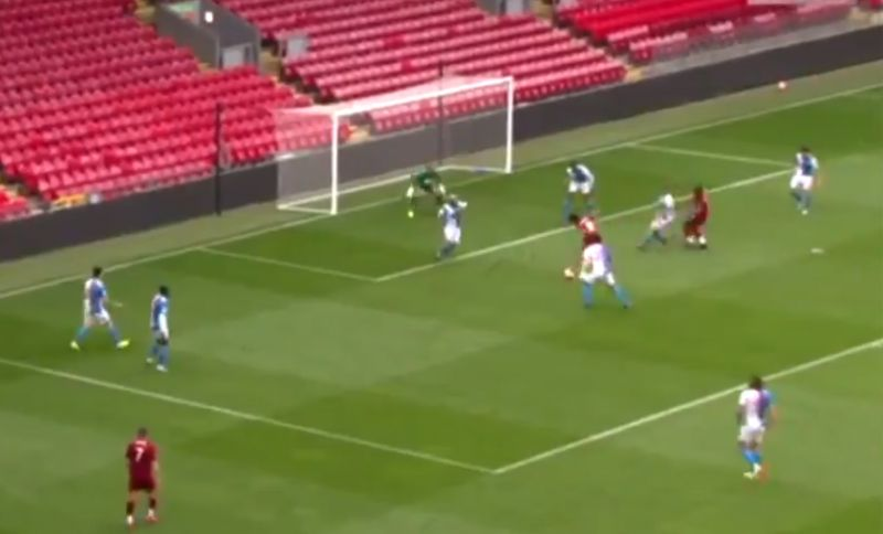 (Video) Minamino bags first LFC goal; Mane & Keita combine in superb build-up play