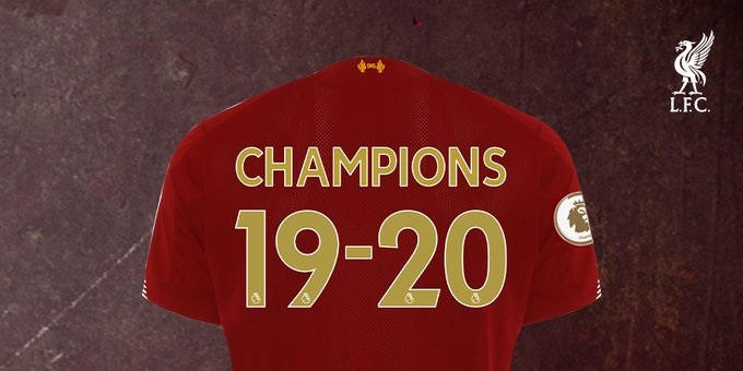(Image) LFC release special Premier League Champions home kit with gold patch