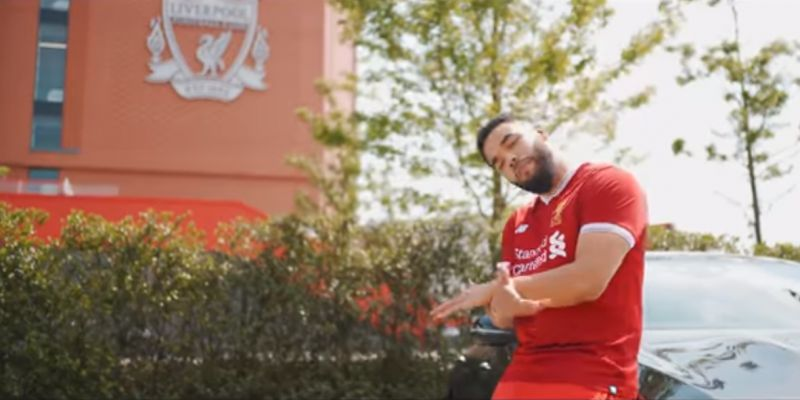 (Video) Grime star Yungen releases song featuring lyrics about LFC duo Mane & Salah