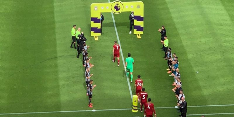 (Video) Liverpool given seventh guard of honour – the most any team has had in one season