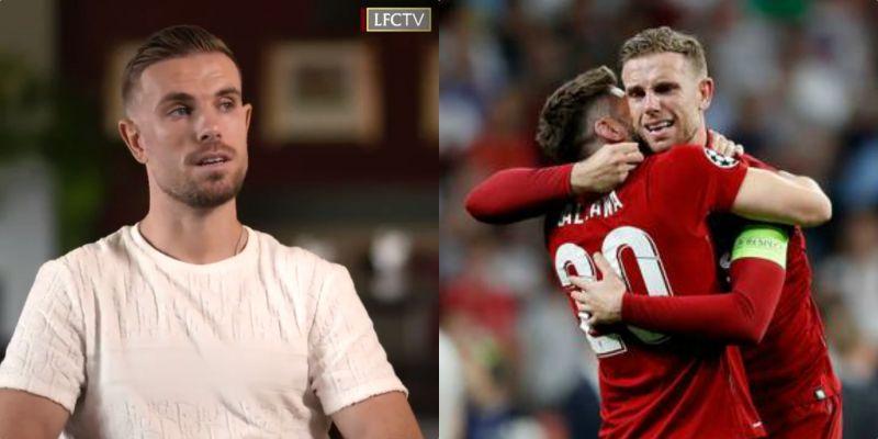 (Video) Jordan Henderson pays emotional tribute to best mate Adam Lallana