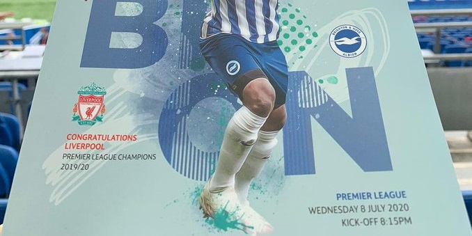 (Photo) Brighton show Liverpool respect with classy match-day gesture